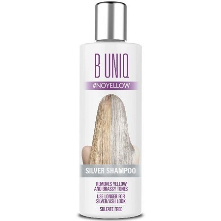 B Uniq Blonde Hair Purple Shampoo
