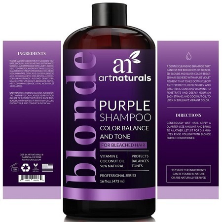ArtNaturals Purple Shampoo And Conditioner Ingredients