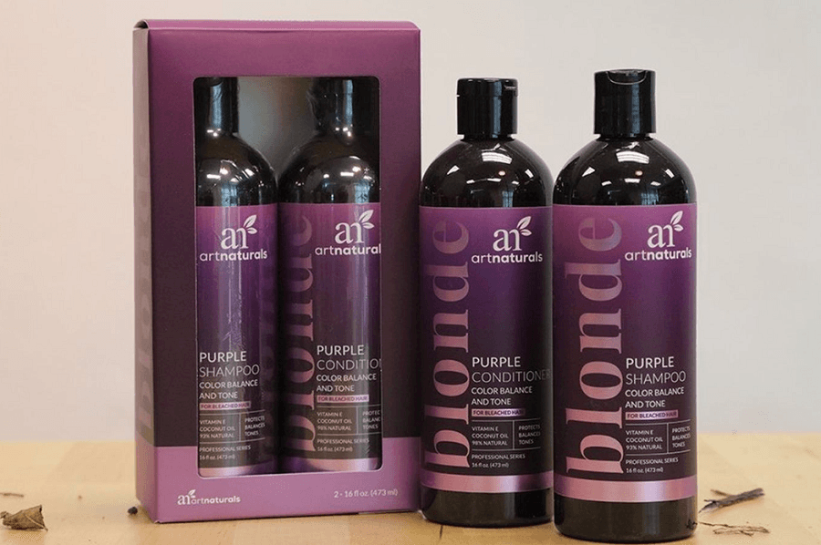 ArtNaturals Purple Shampoo And Conditioner Review