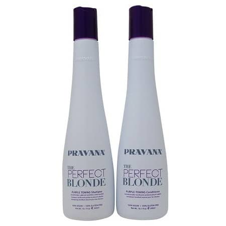 Pravana Purple Shampoo And Conditioner For Blonde Hair